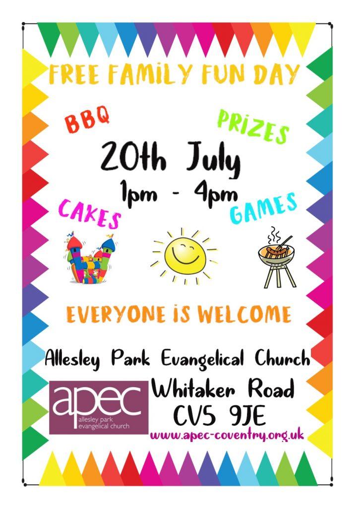 News   Allesley Park Evangelical Church   Reaching people